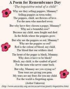 Remembrance day craft - Google Search