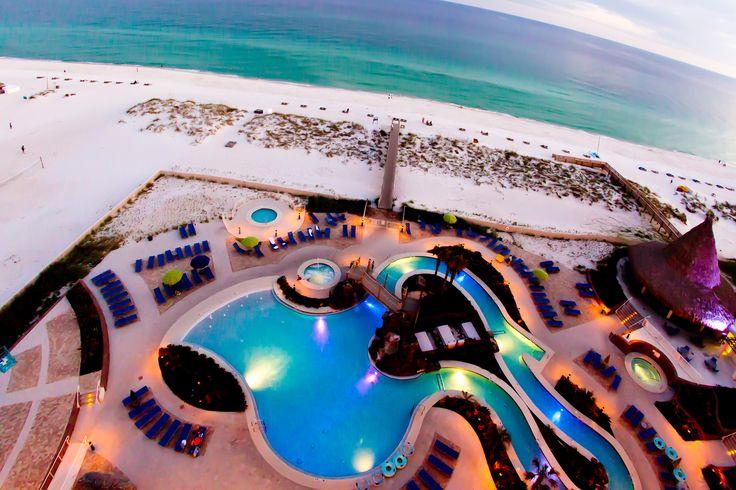 Holiday Inn Resort beachfront hotel Pensacola Beach, Florida.   Family fun destination. #pensacolabeach