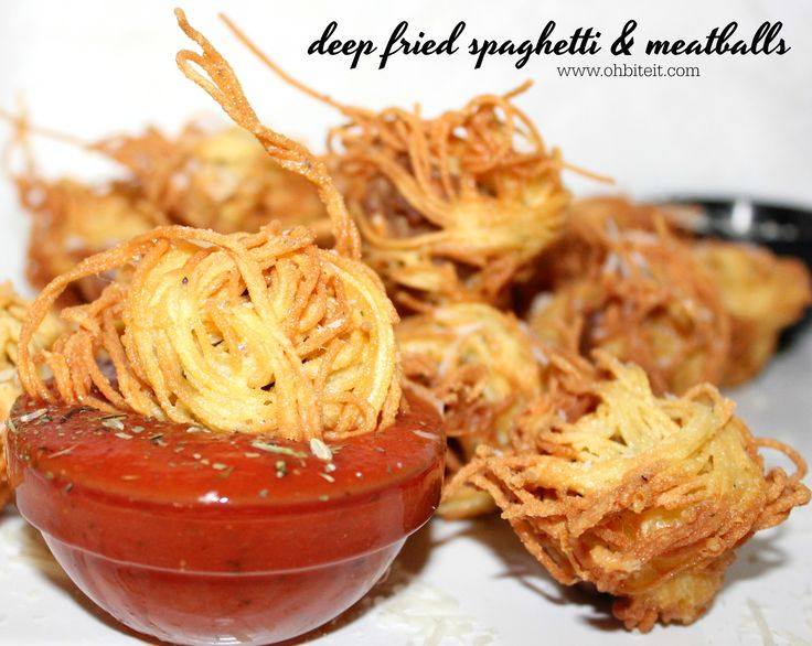 Fried spaghetti recipes you'll love on Pinterest   Chow ...
