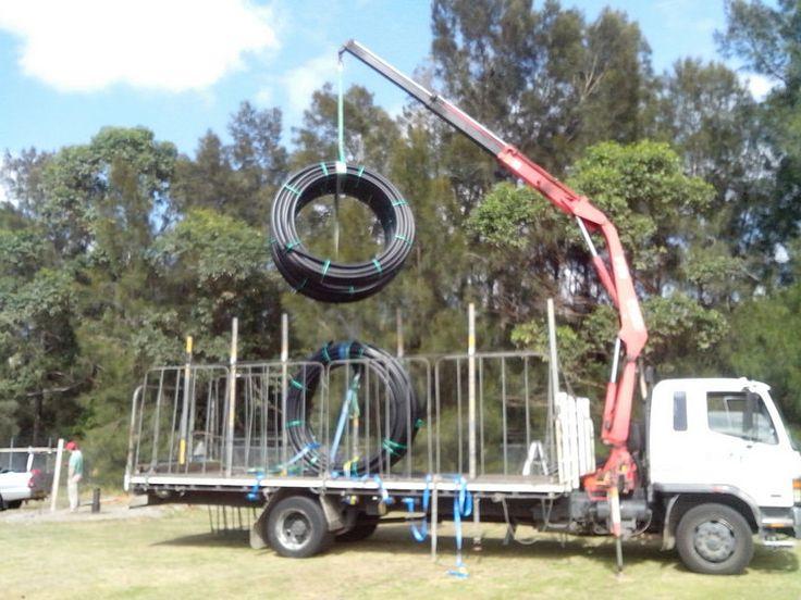 Crane #Truck in the pipeline
