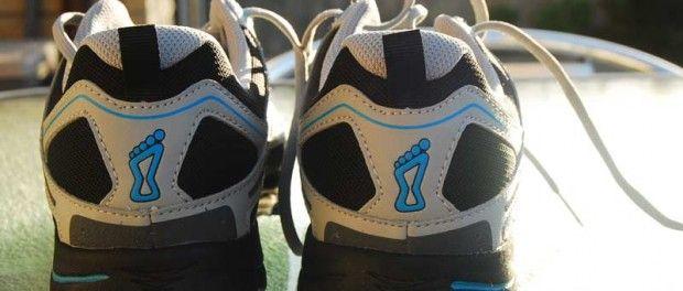Back view INOV-8 Shoes.