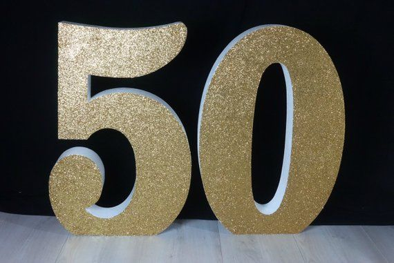 Number 21 Large Foam Numbers Freestanding or Dessert Table 30 tall and 8 deep