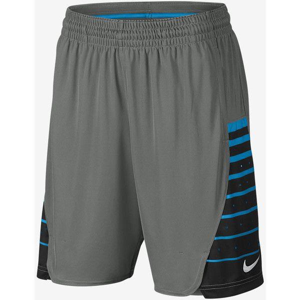 Nike Elite Women's Basketball Shorts. Nike.com ($45) ❤ liked on Polyvore featuring nike