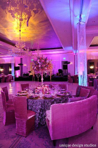 Kordell u0026 Porsha Stewartu0027s gorgeous purple reception at the St. Regis in Atlanta. Wedding & 117 best Reception Decor by Celebrity Wedding Planner Tiffany Cook ...