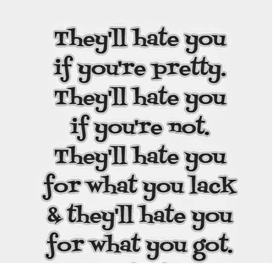 Real Quotes About Haters: 17 Best Images About To All My Haters- On Pinterest