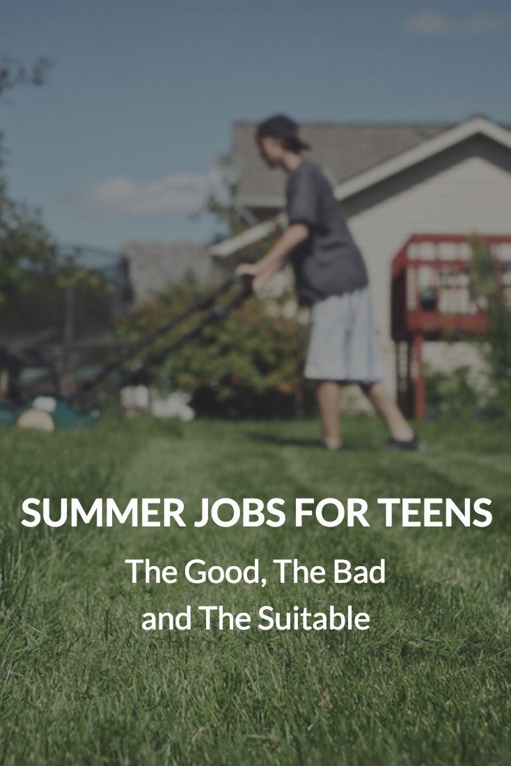 Topic teen summer job suggestions how