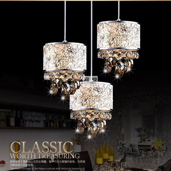 Modern Crystal Chandelier Pendant Light, How To Hang A Heavy Crystal Chandelier