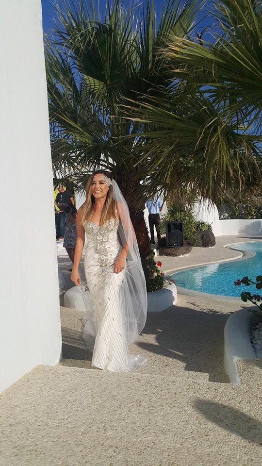 Vintage wedding gown