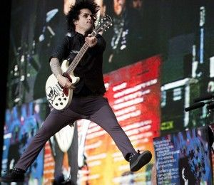 Billie Joe Armstrong (Green Day) - Wembley Stadium, 19/06/10