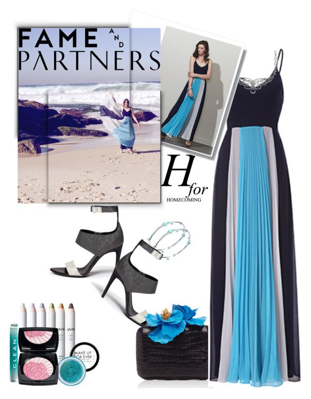 """Hello Homecoming with Fame & Partners: Contest Entry"" by iraavalon ❤ liked on Polyvore featuring John Hardy, Proenza Schouler, Nancy Gonzalez, Fame & Partners, Carolyn Pollack/Relios and CLEAN"