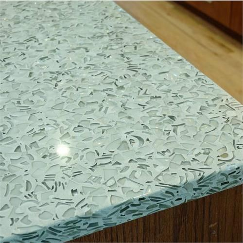 32 Best Recycled Glass Countertops Images On Pinterest