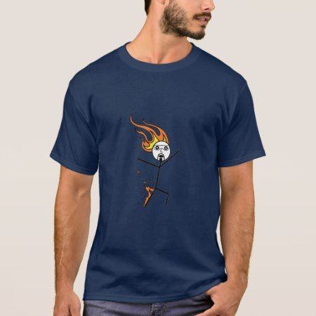 Stickman Bill Fire Safety T-Shirt - tap to personalize and get yours