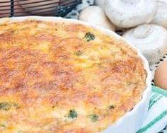 Quiche sans pâte thon et gruyère (facile, rapide) - Une recette CuisineAZ