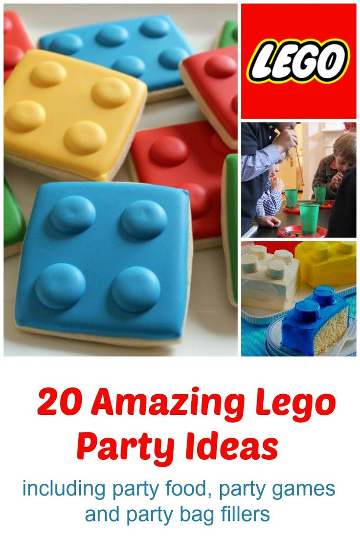 Need an idea for a party? Try a Lego theme. It's great for boys and girls.  #Lego #birthdayparties #kidsparties