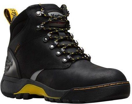 Dr. Martens Unisex Ridge 6-Tie Steel Toe Boot