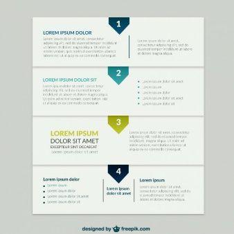 ビジネスプレゼンテーションインフォグラフィック