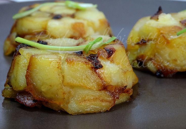 Gli sformatini di patate, ottimi per accompagnare i secondi piatti in occasioni speciali.