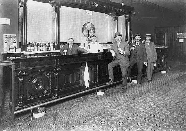 Details about Saloon Scene, Gold Hill, Nevada, c 1910