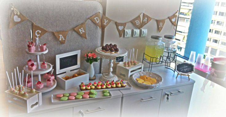Candy bar on a name day