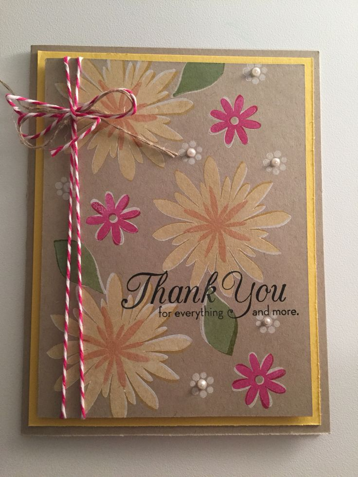 Stampin' Up!, Flower Patch, One Big Meaning