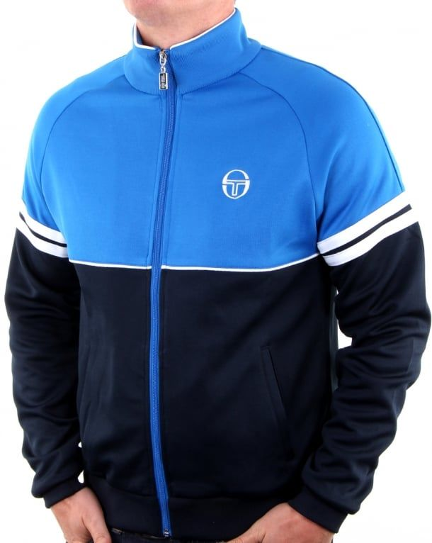 Sergio Tacchini Orion Track Top Royal/Navy,tracksuit,jacket