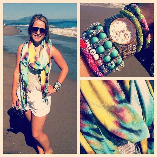 FleurDeForce- chic at the beach love her vlog! she has amazing taste