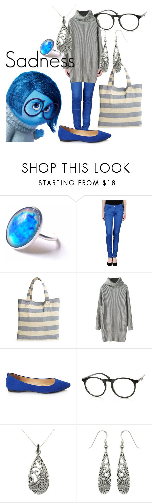 """""""Sadness"""" by samosaurus2014 ❤ liked on Polyvore featuring Monkee Genes, Cesca, Chicnova Fashion, Forever 21, Retrò and Carolina Glamour Collection"""