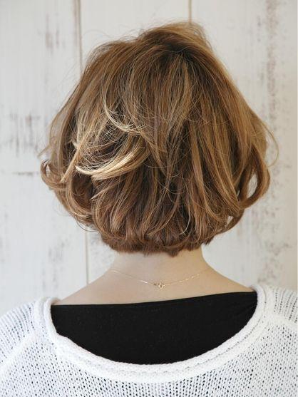 ☆くせ毛風ショート☆ | 大通周辺の美容室 AUBE hair vision 札幌店のヘアスタイル | Rasysa(らしさ)