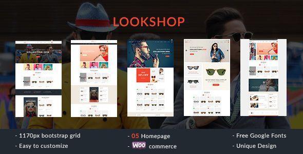 Lookshop - Responsive WooCommerce WordPress Theme