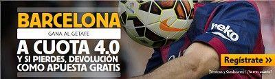 betfair Barcelona gana al Getafe cuota 4 liga 13 diciembre