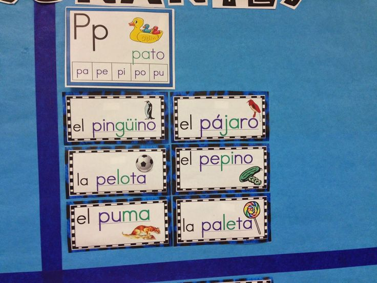 Dual Language Diva: La Pared de Palabras/The Spanish Word Wall