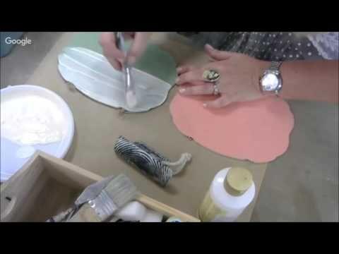 Простая и быстрая имитация древесины: видео урок Аллы Мавриной. Материалы и Инструменты. - YouTube