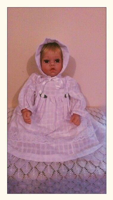 Baby doll dressed by Debra Hawkins