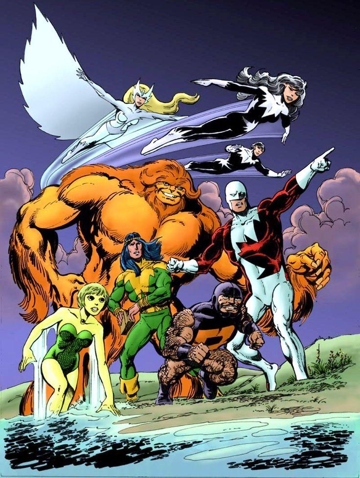 Alpha Flight: Books Art, Comic Books, Alpha Flight, Marvel Comic, Johnbyrn, Super Heroes, Books Geekeri, John Byrne, Superhero
