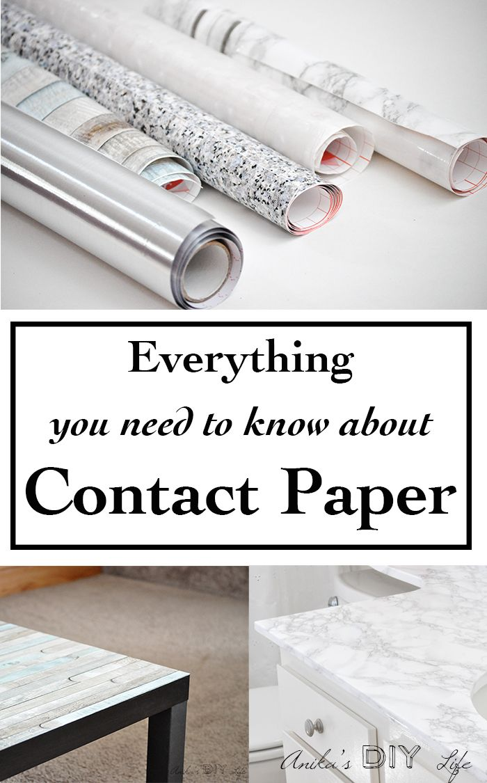 Decorating With All Types Of Contact Paper Marble