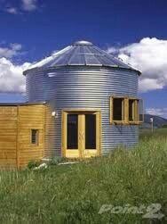 12 best grain bin foundations images on pinterest for Silo house kit