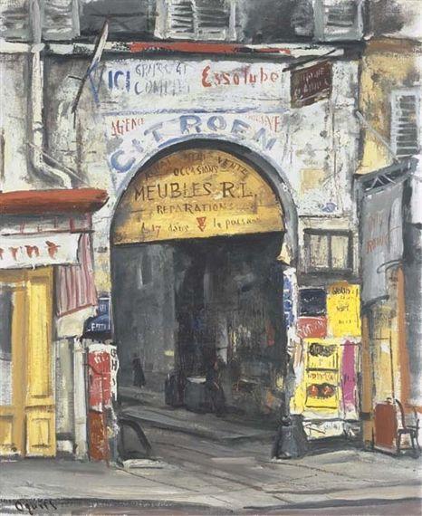 Ogisu Takanori, Rue de Faubourg Saint-Martin, Paris