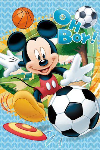 Disney Fleece Deken - Mickey Mouse (100x150cm)
