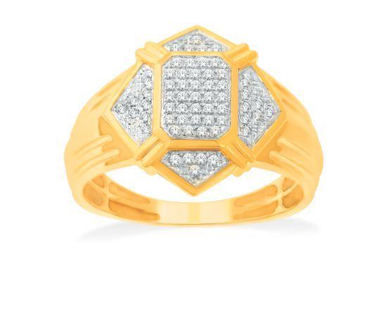 Sun Man Diamond Ring 60038 for Men from KISNA #diamond #rings #gents