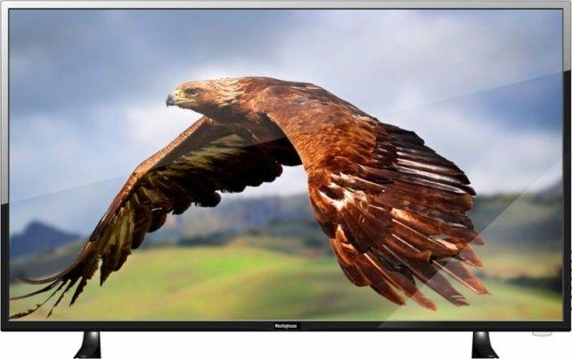 "Westinghouse - 42"" Class (41.5"" Diag.) - LED - 1080p - Smart - HDTV - Black - Front Zoom"