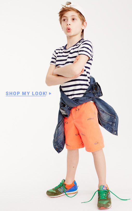 Boys' Cargo Shorts, Chino Shorts & More : Boys' Shorts   J.Crew