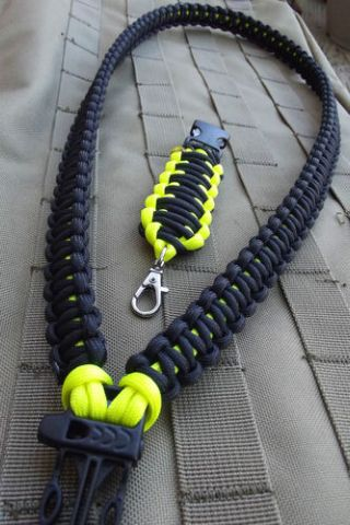Cool paracord lanyard 35ft