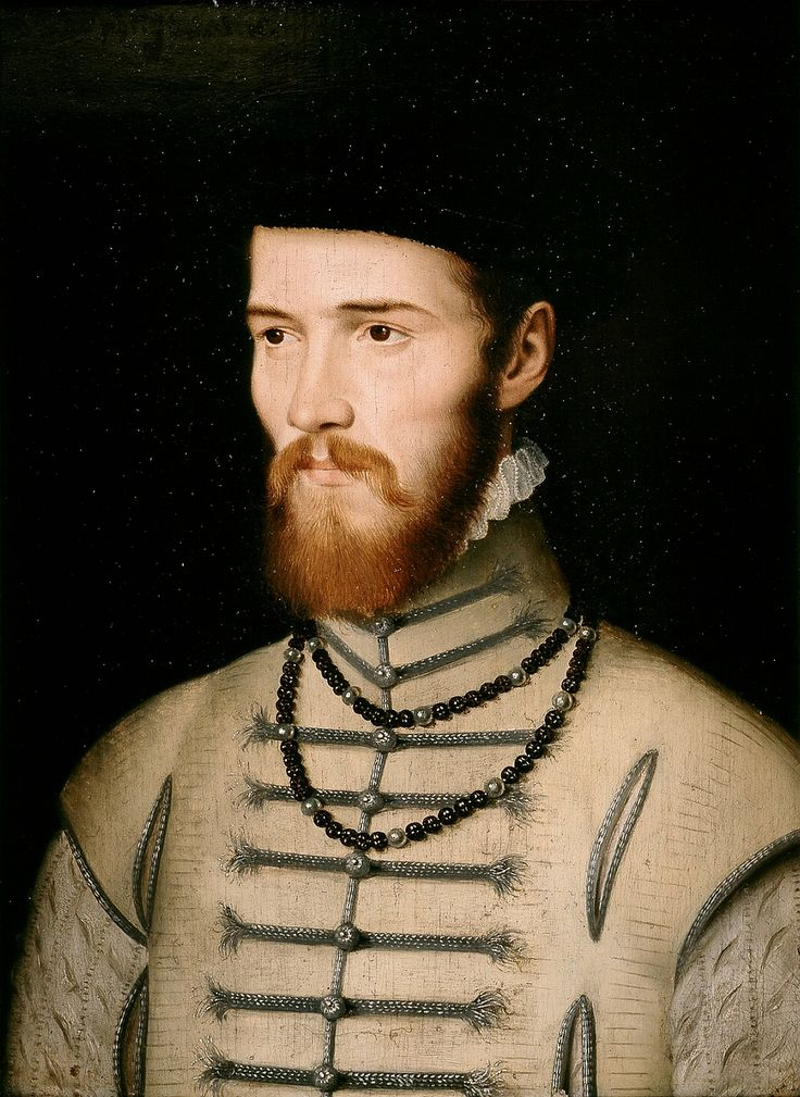 """Portrait of a man, so-called """"Don Juan"""" by François Clouet, 1550 (PD-art/old), Muzeum Czartoryskich, from the collection of Izabela Lubomirska"""