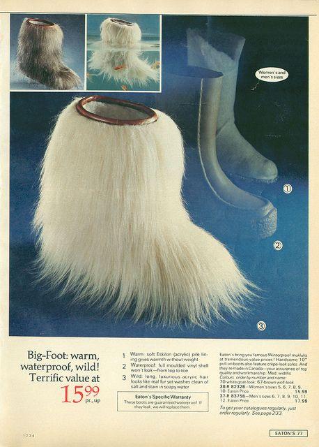 1975 Eaton's Christmas Catalog -Warm and waterproof