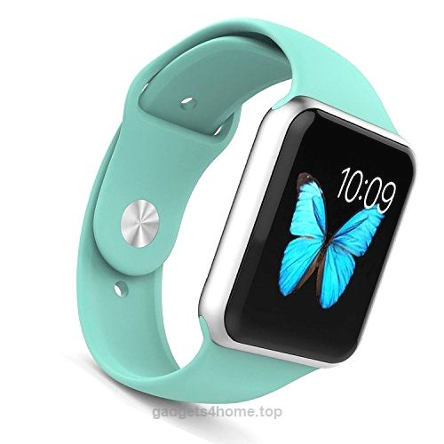 Apple Watch Band – WantsMall Soft Silicone Sport Style Replacement iWatch Strap for 38mm Apple Watch Models (Mint Green) BUY NOW $7.88 Watch Sport bands and allow you to mix and match bands for whatever style you like The watch band is made of high quality mater .. http://www.gadgets4home.top/2017/03/05/apple-watch-band-wantsmall-soft-silicone-sport-style-replacement-iwatch-strap-for-38mm-apple-watch-models-mint-green/