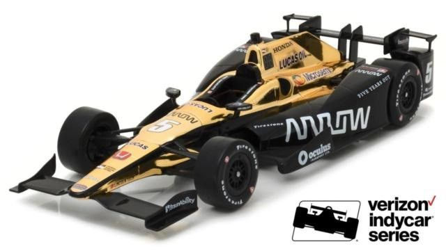 James Hinchcliffe 2017 ARROW Indy Car 1:64 Greenlight Collectibles -