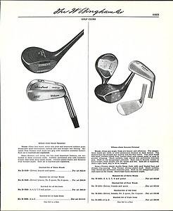 1954 Ad Wilson Golf Clubs Sam Snead Gene Sarazen Patty Berg Woods Irons