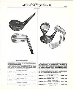 1954 Ad Wilson Golf Clubs Sam Snead Gene Sarazen Patty Berg Woods Irons