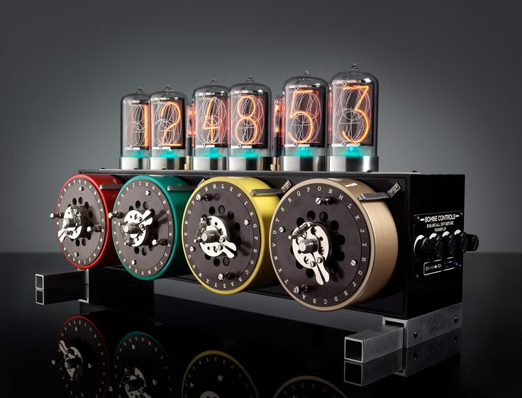 Clocks Don't Get More Bonkers — Or Beautiful — Than the Bad Dog Designs Nixie Tube Clocks