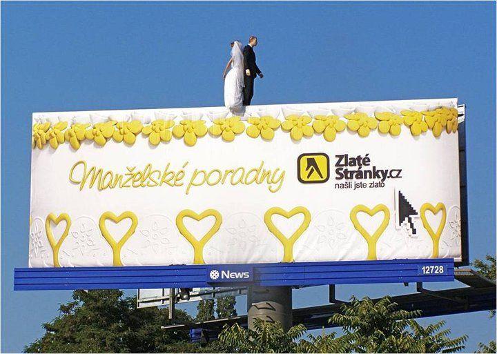 Billboard Zlaté Stránky, 2010. #Mediatel #Billboard